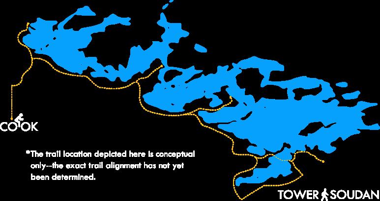 Lake Vermilion Trail Corridor Map